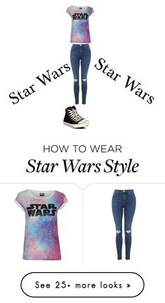 """Star Wars"" by madelynn-more on Polyvore featuring Converse"