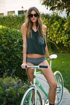 Chicks on Bicycle