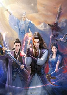 gu jian qi tan 16 by hiliuyun on DeviantArt