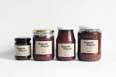 Packaging of the World: Creative Package Design Archive and Gallery: Jam I got Labels