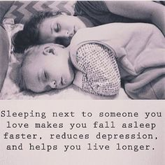 Some of the benefits for co-sleeping