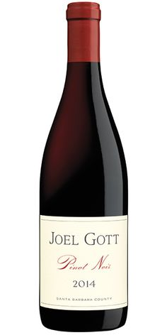 Joel Gott Pinot Noir has aromas of sweet cherries and baking spices with a hint of smoke. On the palate, ripe red fruit flavors are followed by elegantly balanced acidity and soft, velvety tannins. Try pairing with lamb, filet mignon, roasted chicken, brie, mushrooms or crème brûlée and white chocolate. – Winemaker's Notes