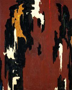 Clyfford Still, Oil on canvas, 53 x 42 inches x cm). Clyfford Still Museum, Denver, CO. from The Clyfford Still Museum Online Collection Clyfford Still, Abstract Drawings, Abstract Art, Modern Art, Contemporary Art, Colour Field, Mark Rothko, Jackson Pollock, Abstract Sculpture