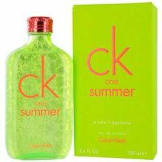 CK ONE SUMMER by Calvin Klein by Calvin Klein. $52.60. UNISEX - EDT SPRAY 3.4 OZ (LIMITED EDITION 2012) - cucumber, cardamom, hedione, watermint, moss, musk, blonde woods, watermelon