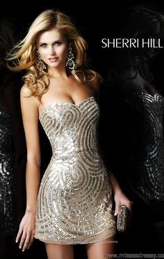 Sherri Hill 2781 by Sherri Hill Hot date or night club night you will be the center of attention!! just use high heels with NO bling!! #fashionpoliceRoz