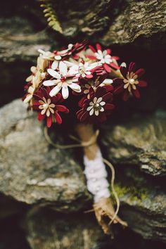DIY Paper Flower Wedding Bouquet