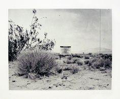 Ed Ruscha, Desert Gravure (2006), via Artsy.net