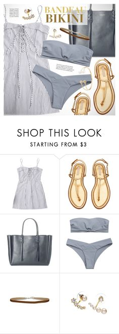 """Bandeau bikini"" by vn1ta ❤ liked on Polyvore featuring Lanvin"