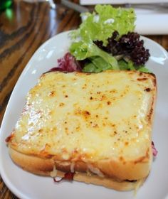 Any day; Croque Monsieur!