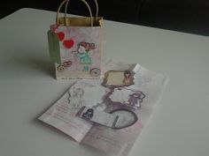 Received snailmail from Tamara! <3