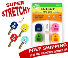 Easily find the correct key. EVERY. SINGLE. TIME!! Thank you Label Label Key Caps!! #giveaway 5 winners!! 2/19