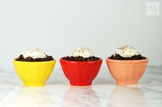 Chocolate Tapioca Pudding - Fried Dandelions