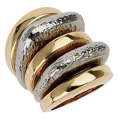 Topshop Stackable Rings (Set of 5) ($28) ❤ liked on Polyvore