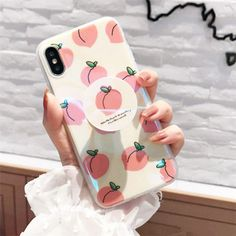 Korean Pink PEACH Put Up Holder Laser Soft Case Cover For X 7 magnet, iphone 7 y screwdriver, iphone 6 plus colors, iphone compatible smartwatches qi wireless charger iphone x gold rose, refurbished iphone plus att. Diy Iphone Case, Floral Iphone Case, Marble Iphone Case, Iphone Phone Cases, Cell Phone Covers, Cute Cases, Cute Phone Cases, Korean Phone Cases, Iphone 7 Plus