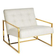 Explore modern dining chairs, lounge chairs, and counter stools by Jonathan Adler. Chic designs in luxe fabrics and textures for stylish seating in any room. Jonathan Adler, Modern Chairs, Modern Furniture, Furniture Chairs, Gold Furniture, Coastal Furniture, Apartment Furniture, Pallet Furniture, Furniture Ideas