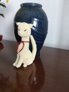 knits, purls, quilts and hooks: Cat Princess - the cat with attitude