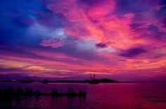 sunrise at Losari Beach, Makassar