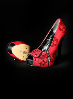 Crazy lovely Iron Fist shoes, prom?