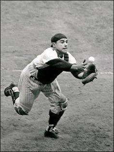 Yankees Hall of Fame catcher Yogi Berra dies at File-This Sept. file photo shows catcher Yogi Berra of the New York Yankees grabbing for a . Baseball Star, Better Baseball, Baseball Games, Sports Baseball, Baseball Players, Funny Baseball, Baseball Videos, Baseball Jackets, Baseball Scores