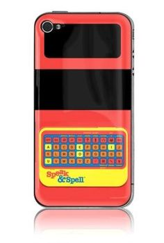 Speak & Spell iPhone Case // 20 Retro iPhone Covers