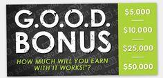 Become An It Works Distributor 2013 GOOD Bonus