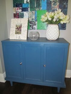 Capricious Cabinet Make Over -- OneFabRoom by TT (see BEFORE picture for best results)