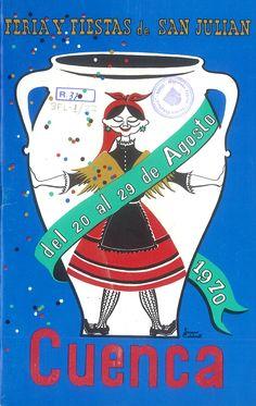 San Julián 1970 Programa de la Feria y Fiestas de San Julián 1970, del 20 al 29 de agosto En la Casa de Cultura se celebra la proclamación de Reina y Damas y se pronuncia el pregón a cargo de Juan Ignacio Bermejo y Gironés