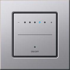 Touch dimmer by Gira Design: E22 – almuinium