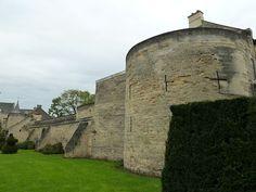 Western city wall, Valkenburg, Limburg, the Netherlands