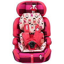 Cosatto Zoomi 5 Point Plus Group 1, 2 & 3 Car Seat, Dilly Dolly http://www.parentideal.co.uk/john-lewis--baby-car-seats.html