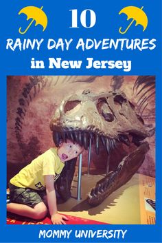 10 Rainy Day Adventures in NJ  On rainy days in NJ the kids can be rambunctious, well here is a list of brain boosting places to take them by Mommy University at www.MommyUniversityNJ.comm