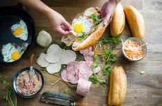 Cold cut banh mi -- can't wait to try!