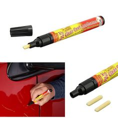2017 Non Toxic Car Clear Coat Applicator Fix It Pro Clear Car Scratch Repair Remover Pen Car-styling cleaning tools