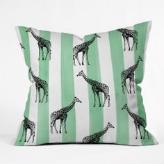 Natalie Baca Stripes And Spots Throw Pillow   DENY Designs Home Accessories