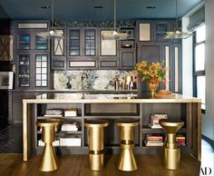 374 Broome Street, Brewster Carriage House, John Legend and Chrissy Teigen, Architectural Digest