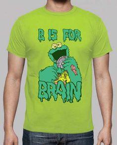 Prezzi e Sconti: B #è for brain  ad Euro 20.90 in #Tostadora #T shirt uomo