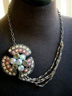 vintage jewelry upcycled