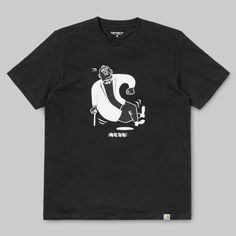 Tricou CARHARTT Gentleman T-shirt Cotton Black