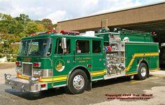 "Castle Shannon, PA Fire Dept. Engine 2 (""Green Hornet"") - 1997 Pierce Arrow 2000 gpm/750 gal."