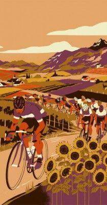 Eliza Southwood - Cono sur Bicicleta. Wine label (2015)