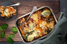 Oven pasta met gehakt en spinazie - Mind Your Feed Lasagna, A Food, Mashed Potatoes, Cauliflower, Macaroni And Cheese, Foodies, Spaghetti, Chicken, Dinner