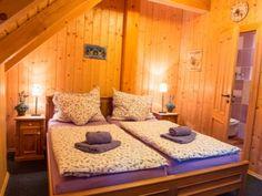 kozí chlívek, orlické hory Farmy, Bed, Travel, Furniture, Home Decor, Viajes, Decoration Home, Room Decor, Home Furniture