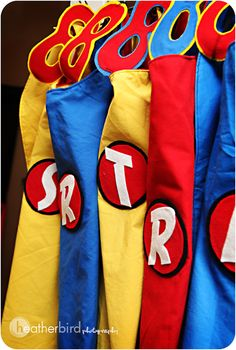 Every little boy needs a birthday party like this! Super hero party inspiration
