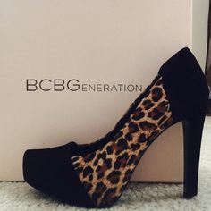 """BCBGeneration high heel Brand new. Size is marked as 7, but they would fit for 6.5.  Heel height 4.5"""" BCBGeneration Shoes Heels"""