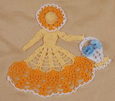 Crochet Patterns - Crochet Crinoline Patterns - Crochet Miniature ...