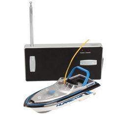 Lancha Mini RC Radiocontrol Metal Azul ⋆ Etoytronic⚡️