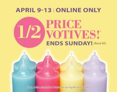 It's a great time to stock up on your favorite fragrances or try a new fragrances for spring!