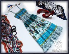 COOCOON Indyjska Sukienka Etno Orient Boho FOLK