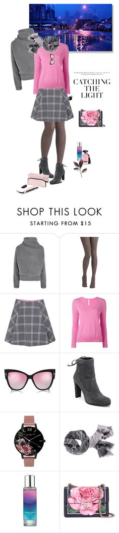 """1454"" by m-lane ❤ liked on Polyvore featuring Acne Studios, Jeffrey Campbell, Paul & Joe Sister, PHILO-SOFIE, Stuart Weitzman, Olivia Burton, Pinrose, Dolce&Gabbana and Victoria's Secret"