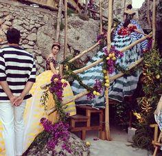 Dolce & Gabbana Altamoda in Capri, Italy